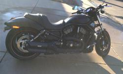 I'm selling my 2008 Harley Davidson Night Rod Special. It is in incredible condition and very low miles, 5019. I've kept it in a garage since day 1. I've upgraded the exhaust system and added a dyna kit. The original exhaust is available if you prefer the