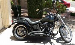 "2008 Harley Davidson Night Train - 22,600 miles, Power Commander, V&H Pipes, 16"" ""Chubby"" Bars, Quick Release Sissy Bar, Quick Release Wind Screen, Pearl Black, Forward Controls.  $13,200.   Text at 480-226-1469"