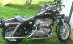 2008 Sportster 883XL only 3,018 miles very clean bike. asking 5,000 OBO. Call 717-829-3672