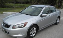 2008 Honda Accord LX Sedan 95762 Miles ONE OWNER / FL car, NO Rust Dealer Serviced, Clean carfax, Clean Title please visit our website for more info and more photos: rpmmotorsllc.com Only : $10,000. WITH FINANCING AND WARRANTY OPTIONS AVAILABLE, to all