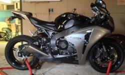 2008 Honda CBR used but in mint condition not a scratch never dropped or raced truly babied very low mileage only 2207 miles. Always garage kept and battery kept on tender year round never ridden in the rain. Has lots of options. Lighttech rearsets