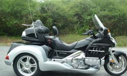 UP FOR SALE IS THIS 2008 HONDA GOLDWING GL1800 ROADSMITH TRIKE BY TRIKE SHOP. THIS IS A BRAND NEW ROADSMITH HT1800 CONVERSION FOR THE GOLDWING GL1800. THE ROADSMITH HT1800 IS AN INDEPENDENT SUSPENSION CONVERSION AND HAS A GREAT RIDE. THESE CONVERSIONS