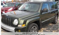 Jeep Patriot LIMITED 5-Speed Manual Green 117458 4-Cylinder 2.4L2008 SUV Joe Hill's Autorama () -