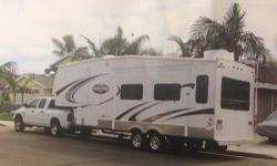2008 Keystone Montana Mountaineer 285RLD, ONE OWNER, FABULOUS CONDITION, CLEAN TITLE IN HAND. SPECIFICATIONS Maximum Sleeping Capacity: 6 Number Of Slideouts: 2 Length (ft-in / m): 31' 3'' / 9.5 Interior Height (in / mm): N/A Base Weight (lbs / kg): 8990