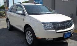 VERY CLEAN 2008 LINCOLN MKX FWD SUV , WHITE WITH TAN LEATHER INTERIOR, CLEAN CARFAX AVILABLE! 89,184 MILES , PLEASE CALL FOR APPOINTMENT 210-804-0003 ASK FOR MIKE OR STEVE , OTHER CLEAN INVENTORY AVILABLE AT SAAUTO.NET