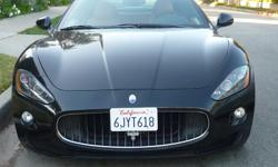 2008 MASERATI GRANTURISMO For sale by owner, very clean Ext: Blk Int: Couio Mileage 25700