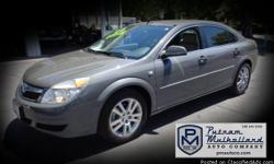 2008 Saturn Aura XE Sedan  automatic, 4 spd 4 door premium wheels power windows side air bags ABS 4 wheel Onstar dual air bags power steering traction control stabilitrack cruise control air conditioning power door lcoks 81k miles  $8995.00