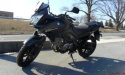 2008 Suzuki V-Strom 650, Black, 31891 miles, new front & rear tires, Pennsylvania title. Call Blocker Enterprises for info 610-377-0440.