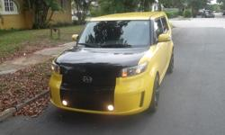 2008 Toyota scion xb for sale $11000.00.  It has a 4 cylinder automatic engine, power windows, cruise control, cd/mp3 player, Iphone hook up, Black cloth interior with no rips, scrathces, or stains, The exterior is also in perfect condition, tinted