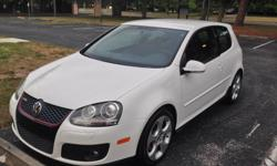 I bought this GTI new in the summer of 2008. It is in great condition and is really fun to drive. It has new Valera Sport (Firestone) tires and is very clean inside and out (it has been mostly garage kept). I have all the maintenance records and a recent