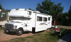 2008 Winnebago Outlook 31C Mini Motor Home! Fully Equipped on Ford E450 Chassis w/V10! New Tires, New Battery, New Ball Joints & Tie Rods in front, New Back Up Camera and Jensen Stereo w/Back-Up Monitor! TV w/Inverter, DVD Player,Stainless Steel