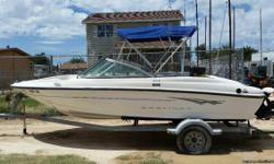 This is a nice boat with low hours on it. I have a clean title for both boat and trailer