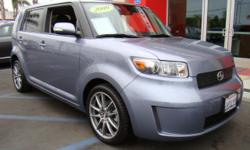 Sporty 09 Scion Xb with only 40,000 miles! This sporty reincarnation of the original box is loaded and better looking than ever, inside and out! Check out the two-tone leather seats, power windows, power locks, power mirrors, alloy wheels, spoiler, mp3