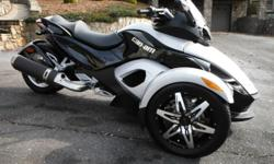 I have for sale a extremely nice Can Am Spyder.