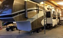 """2009 Cedar Creek Custom 36RD5S 39'5"""" overall length. purchased new in 2010, one owner with less than 2000 miles of travel! Garage kept when not in use. NON SMOKER!!! Excellent condition, must see to appreciate! If your looking for a high quality luxury"""