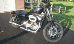 2009 Harley Davidson 1200 Nightster that my sister purchased brand new in 2009. This bike has only 1380 female driven miles and has been garaged kept since new. This bike has had a few upgrades added, as shown in the pictures. Inspections are