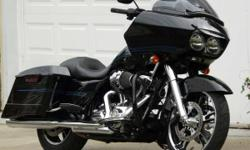 2009 RG, It's a beautiful bike, and in a very good condition, with over 13,000 miles. The motorcycle has brand new wheels, from 2015. The tiles are brand new with less than 100 miles. The saddle bag are extended, and custom exhaust. If you