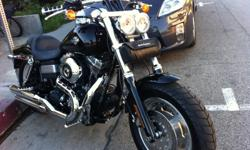 2009 HARLEY-DAVIDSON DYNA FAT BOB FXDF, Black. Six Speed, 96 cubic inches. Very well maintained 3,440 miles. Great commuter bike, very comfortable, upgraded grips and controls. like new, super clean, a beauty. If interested please call 310.200.5252