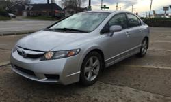 Good condition 2009 Honda Civic LX-SP with 129k miles. It has alloy wheels, cruise control, power windows and locks Runs and drives good! Clean title in hand!!!! Call/text317.560.30.90.