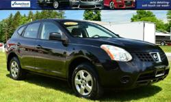 2009 Nissan Rogue 'S' AWD SUV!! Power Window, Locks, and Mirrors; AM/FM/CD; Air Conditioning; Cruise Control; Steering Wheel Controls; and Keyless Entry!! BANK FINANCING AVAILABLE !! EASY ONLINE APPLICATION! EXTENDED SERVICE CONTRACTS AVAILABLE ON SELECT