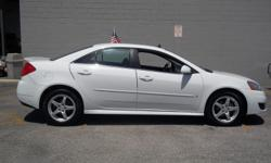 2009 PONTIAC G6 GT SEDAN WHITE WITH BLACK COLTH INTERIOR , 92,800 MILES 3.5L V6 ENGINE , FLEX FUEL. FINANCING IS AVILABLE AT SAAUTO.NET OR CALL FOR APPOINTMENT 210-804-0003 ASK FOR MIKE OR STEVE. MORE CLEAN INVENTORY AVILABLE! CARS! TRUCKS! SUV'S!