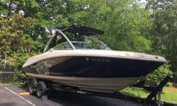 2009 Sea Ray Fission, 50th anniversary edition, serial number 1. EXCELLENT show room floor condition. 350 Mag DTS, dual counter rotating prop. All wakeboards, skis, tubes, ropes included. Sirius Satellite Radio available. MPEG & Ipod connections for the