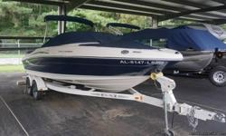 80 hours use, Excellent condition http://www.nadaguides.com/Boats/2009/Sea-Ray-Boats/205-SPORT__/10263649/Values Options: (change) Bimini Top Boat Cover Depth Sounder Stereo - AM/FM/CD player w/4 speakers Flooring - Snap In/Out Carpet Fuel Injection