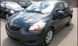 2009 Toyota Yaris Exterior / interior color: Meteorite Metallic / Dark Charcoal Engine: 1.5L L4 FI DOHC 16V Transmission: Automatic w/ overdrive Mileage: 125,351 Title: Clean EPA MPG: 29 City / 36 Hwy Options: Power locks, AM-FM-CD, A/C, cruise, tilt