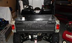 "this utv has only 52 miles on it.it is kept in a heated garage.has digital gauges,roof,2500 winch,towing package and plow 60""with quick release system. A 6'X12' PATRIOT TRAILER AVAILABLE FOR AN EXTRA 600.00 ////////CLAUD HAVING TROUBLE SENDING A E-MAIL TO"