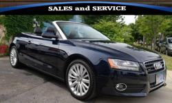 2010 Audi A5 AWD 2.0T 2dr Convertible! Heated/Leather Seats! - STK908-$16,895 fuel:gas odometer:81000 title status:clean transmission:automatic ONE-OWNER!! 2010 Audi A5 Convertible 'Premium Plus' 2.0T Quattro AWD