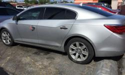 2010 Buick LaCrosse CXL Mileage 118,616 Exterior Quicksilver Metallic Transmission Automatic Engine 3.0L V-6 Comes with a warranty and the car fax. I have the easiest finance in Las Vegas. 500.00 drives you off today!, with a payment as low as 195.94 Ask