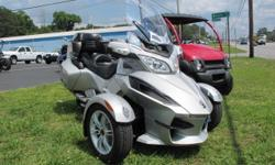 This is a 2010 Can-Am Spyder RT SM5 with 10k miles. It has a manual transmission and is in excellent condition, ready to ride!