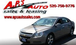 CLICK HERE FOR MORE IMAGES AND INFO (520) 750-9776 A.P'S Auto Sales 3747 E. Speedway Blvd. Tucson, AZ 85716 2010 Chevrolet Malibu 4-Door Sedan Transmission: Automatic VIN: 1G1ZB5EB2AF223317 Mileage: 75,639 Title: Clear Exterior Color: Gray Engine: I4 2.4L