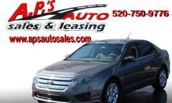 CLICK HERE FOR MORE IMAGES AND INFO: http://clients.automanager.com/007066/vehicle-details/14e0f19f1c4f42f7b30f80be2fdff0ce (520) 750-9776 A.P'S Auto Sales 3747 E. Speedway Blvd. Tucson, AZ 85716 2010 Ford Fusion 4-Door Sedan Transmission: Automatic