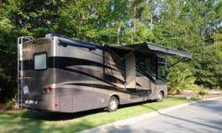 Class A, 2010 Forest River Georgetown 330TS, Full 100,000 Mile Extended Warranty Including Tires, 25,600 Miles, 3 Slideouts, Power Awning, Generator, New Double Recliner, Newly Reupholstered Driver and Passenger Seats, New DVD and Controller 2010 Forest