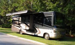 Class A, 2010 Forest River Georgetown 330TS, Full Extended Warranty Including Tires, 25,600 Miles, 3 Slideouts, Power Awning, Generator, New Double Recliner, Newly Reupholstered Driver and Passenger Seats, New DVD and Controller 2010 Forest River