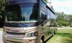Class A, 2010 Forest River Georgetown 330TS, 100K Mile Extended Warranty Including Tires, 25,600 Miles, 3 Slideouts, Power Awning, Generator, New Double Recliner, Newly Reupholstered Driver and Passenger Seats, New DVD and Controller 2010 Forest River