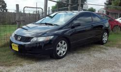 * For More Pictures Goto www.moretzimports.com * 2010 Honda Civic LX Automatic Coupe Value Priced * 1 Owner AutoCheck Vehicle History Report in Hand * 125K Miles * Good Tires * Runs/Drives Great! * Minor paint fading * Durable 1.8L 4-Cyl Engine * Smooth 5