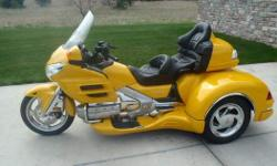 2010 Honda Gold Wing, 2010 Honda Goldwing GL18HPNMA with California Side Car Cobra XL Trike Kit. Up for sale is my 2010 Honda Goldwing XM - Navi Level 2 bike with a Factory Certified installed California Side Car Cobra XL Kit. I can't say more than this