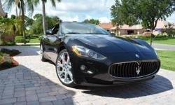 2010 MASERATI GRANTURISMO GT CONVERTIBLE, 13K MILES AND CLEAN, 4.7 LITER FERRARI INSPIRED V8 WITH NAVIGATION, SHIFTABLE AUTOMATIC TRANSMISSION, BALANCE OF FACTORY WARRANTY. If there are any questions please email me and I'll do my best to answer all of