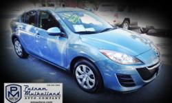 2010 Mazda MAZDA3 i Sport Sedan  automatic, 5 spd w/overdrive & manual mode 4 door power windows am/fm stereo abs 4 wheel power steering steel wheels air conditioning dual air bags 101k miles  $8995.00  #130544 stk 2673 Visit our