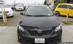 Red Motoring Re5079 . This Toyota Corolla is ready to roll today and is the perfect car for you. The odometer can speak volumes on a vehicle's reliance and this low mileage will assure you of its solid dependence. The interior of this beautiful Toyota