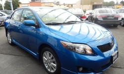 Welcome to 562 Auto Exchange at 13110 Lakewood Blvd Bellflower CA 90706 **562-529-8800** Come and take a look at this 2010 Toyota Corolla stock #425493. We finance eveyone NO credit ok, NO lincense ok, repos OK, your job is your credit, we offer multiple