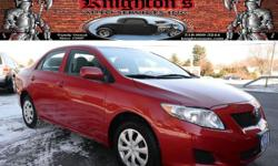 2010 Toyota Corolla LE 4dr Sedan 4A -$11,995 ONLY 31K MILES!! ONE-OWNER!! CLEAN CARFAX!! 2010 Toyota Corolla 'LE' Sedan!! Power Windows, Locks, and Mirrors; AM/FM/CD; Air Conditioning; Cruise Control; and Keyless Entry!! AVAILABLE WITH EVERY