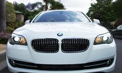 Call or Text (213) 663-9923 2011 BMW 528i White Price $28,900 Mileage 32,899 - Mint Condition! Never in an accident or had any paintwork of any kind. Garaged always. - The car is in great shape, you won't find a cleaner one unless it was brand new on the