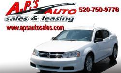 CLICK HERE FOR MORE IMAGES AND INFO: http://clients.automanager.com/007066/vehicle-details/19ba8968484d4a6b80a72eaaf918e66c (520) 750-9776 A.P'S Auto Sales 3747 E. Speedway Blvd. Tucson, AZ 85716 2011 Dodge Avenger 2-Door Sedan Fuel: Gasoline Drivetrain: