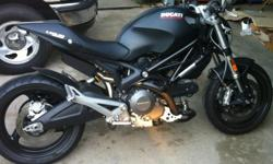 Up for sale is my 2011 Ducati Monster 696 dark. I have a clear title in hand. I am the only owner for this bike and I hate to see it go but I am a student and need the money to get through my last year in college. the bike has always been pampered and