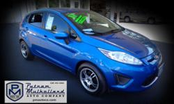 2011 Ford Fiesta SE Hatchback  manual, 5 spd w overdrive FWD alloy wheels am/fm stereo power steering cruise control air conditioning power door locks power windows 89k miles  $7995.00  #116864 stk 2630 Visit our website: pmautoco.com