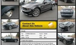 Ford Mustang GT Manual 6-Speed Black 49165 V8 5.0L 2011 Coupe Crossroads Ford 518-756-4000
