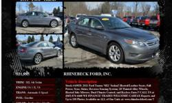 Ford Taurus SEL 4dr Sedan Automatic 6-Speed Sterling Gray Metallic 13452 V6 3.5L V62011 Sedan RHINEBECK FORD, INC. 845-876-4440